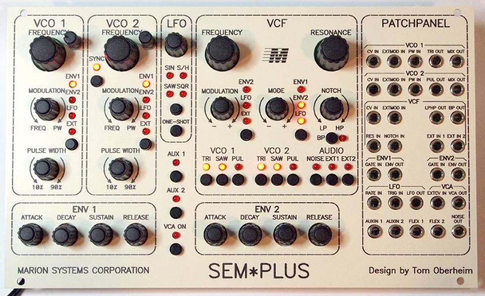 Tom Oberheim Previews Eurorack Sem Plus Module