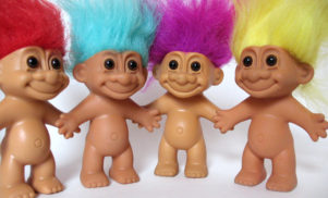 Justin Timberlake is voicing one of the Trolls in a new movie