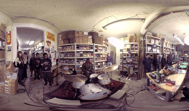 Karriem Riggins and J.Rocc perform Dilla in the Stones Throw dungeon