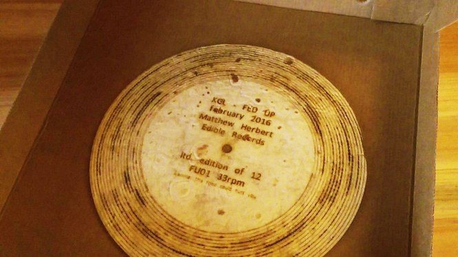 Matthew Herbert has actually released a tortilla record