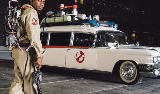 Nas is launching a Ghostbusters-inspired clothing line