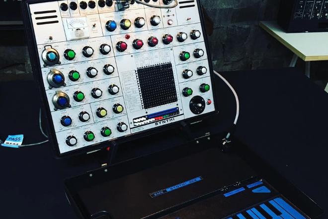 Robin Fox opens vintage synth workshop in Melbourne