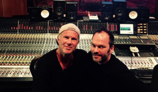 Radiohead producer Nigel Godrich working with Red Hot Chili Peppers