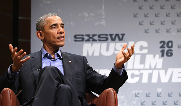 Watch Barack Obama's Keynote Speech at SXSW