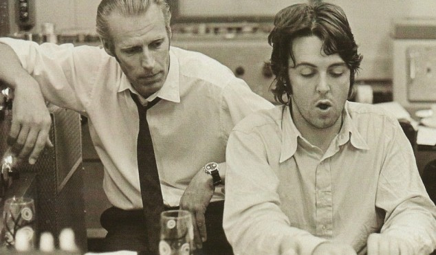Sir George Martin, producer dubbed the 'fifth Beatle', dies at 90