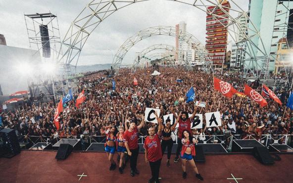 Watch Major Lazer make history at Cuba concert