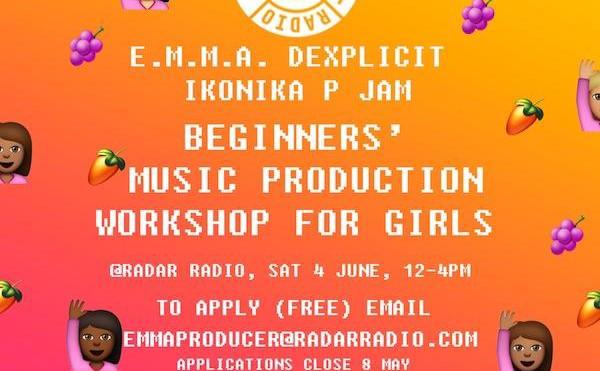 E.M.M.A announces second music production workshop for girls