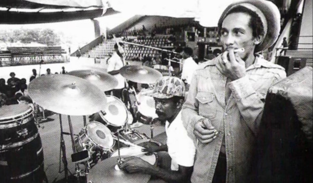 Hear the evolution of reggae drumming in under three minutes