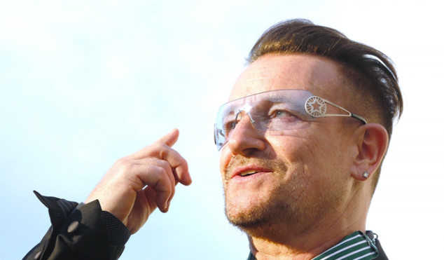 Bono thinks Amy Schumer and Sacha Baron Cohen should be sent to fight ISIS