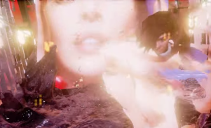 Danny L Harle shares glitchy animated clip for Caroline Polachek collab 'Ashes of Love'