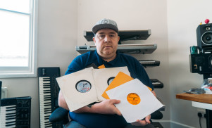 Watch DJ Slimzee guide us through his prized dubplate collection