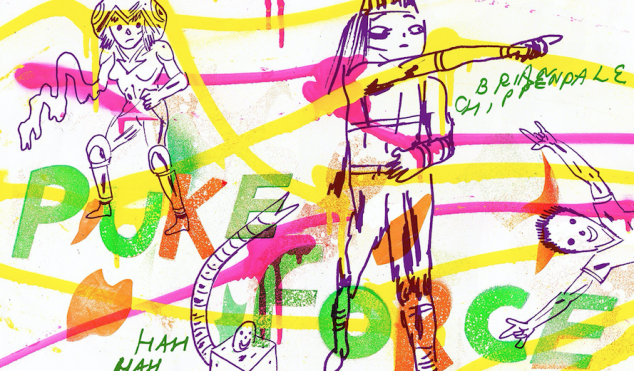 Lightning Bolt's Brian Chippendale takes us inside his grotesque comic dreamworld Puke Force