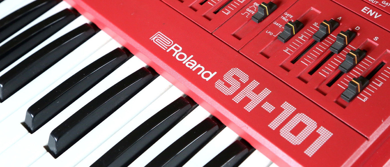 14 Synthesizers - Roland SH-101