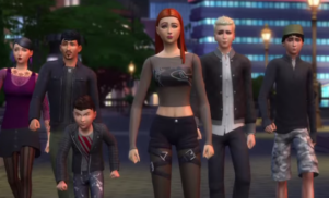 The Sims removes gender restrictions so your Sim can have any hair, clothes or voice
