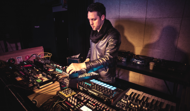 Solar Bears guide us through their analog synth-heavy live set-up