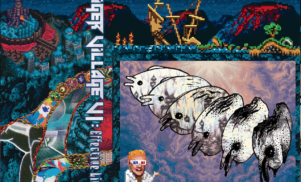 Psychedelic funhouse Hausu Mountain prep albums by Lockbox, Tiger Village and Headboggle