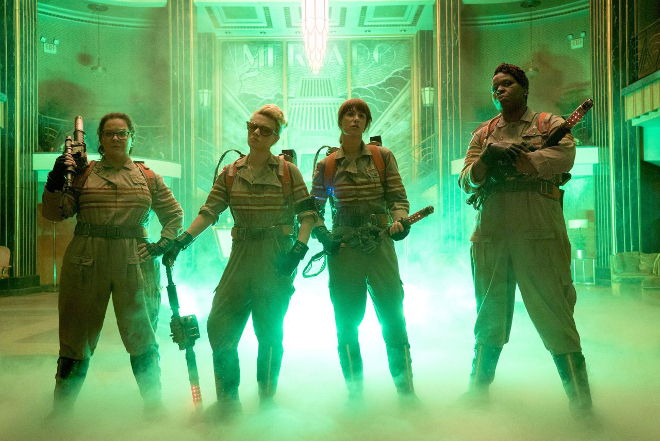 Missy Elliott and Fall Out Boy's Ghostbusters theme tune is here and it's an Ecto-1 car crash