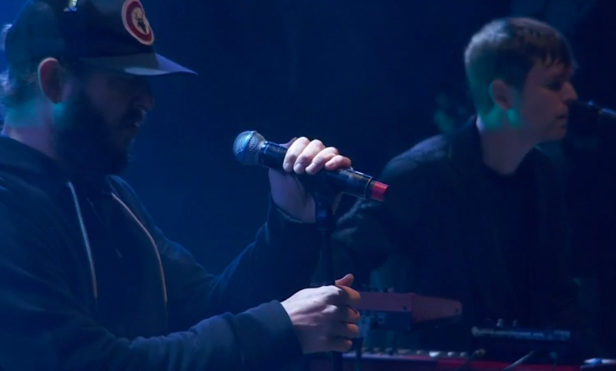 Watch James Blake at Glastonbury with Bon Iver and Vince Staples