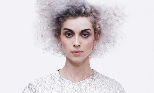 Watch St. Vincent perform a new song in a toilet costume