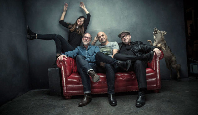 Pixies share new single and announce Head Carrier album