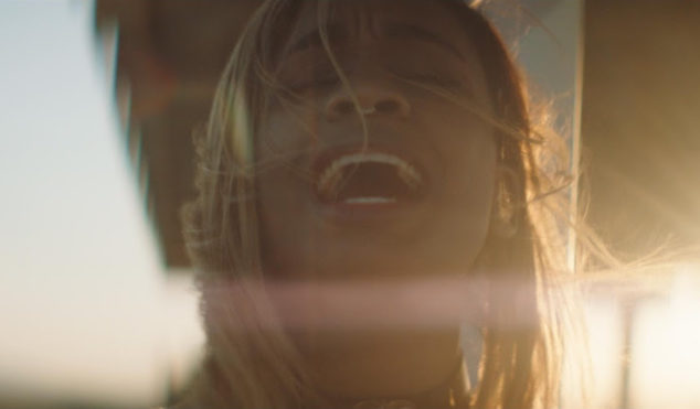Abra traipses the desert in the video for 'CRYBABY'