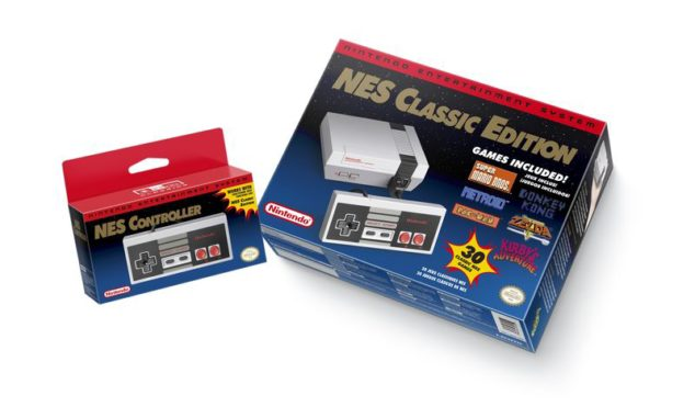 Nintendo to release miniature NES with 30 built-in games