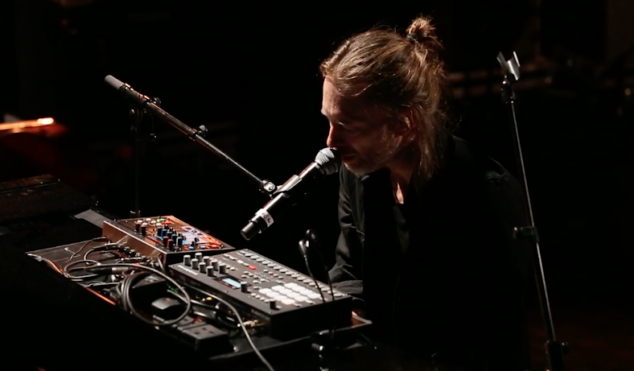 Watch Thom Yorke perform 'Bloom' on Pathway to Paris live album