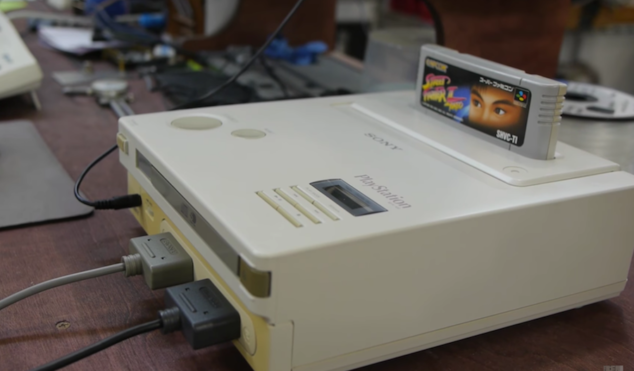 Check out the mythical Nintendo Playstation, history's rarest console