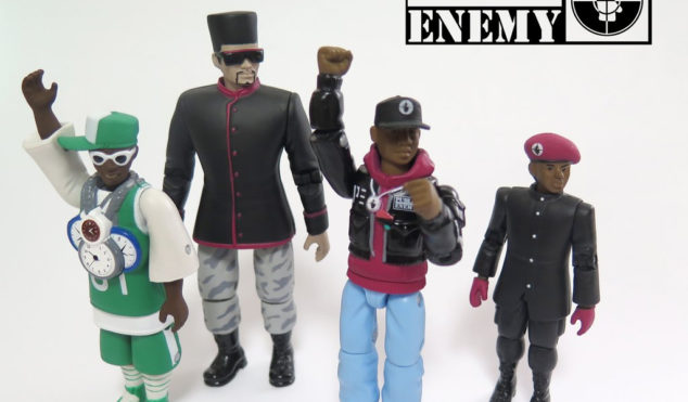 These Public Enemy action figures are perfect
