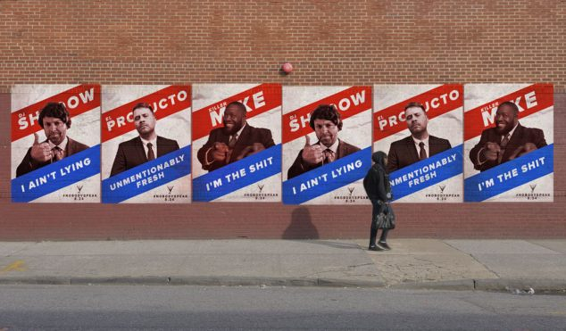 DJ Shadow and Run the Jewels take on election season in the 'Nobody Speak' video