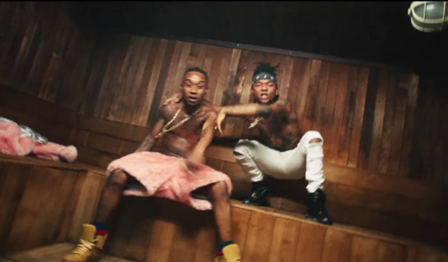 Rae Sremmurd throw a hedonistic sauna party in their video for 'Set The Roof' featuring Lil' Jon