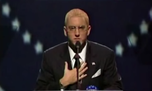 Donald Trump once endorsed Eminem to be President