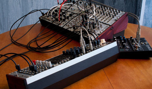 This video shows you how to make a modular synth case out of cardboard