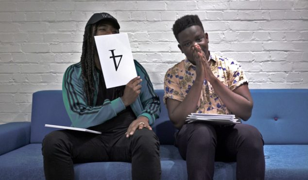 Watch D.R.A.M & salute review Skrillex and Desiigner in Singles Club