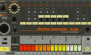 Play a replica of Roland's TR-808 drum machine in your browser