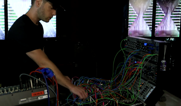 Watch Mumdance and AJ Tracey's improvised modular synth session