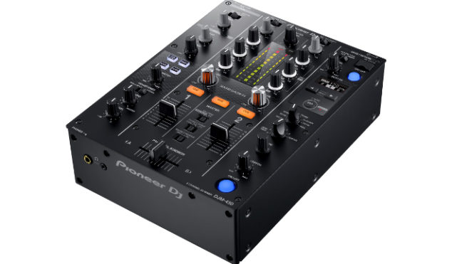 Pioneer DJ updates affordable two-channel mixer with digital DJ features