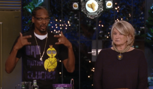 Watch the trailer for Snoop Dogg and Martha Stewart's new cooking show