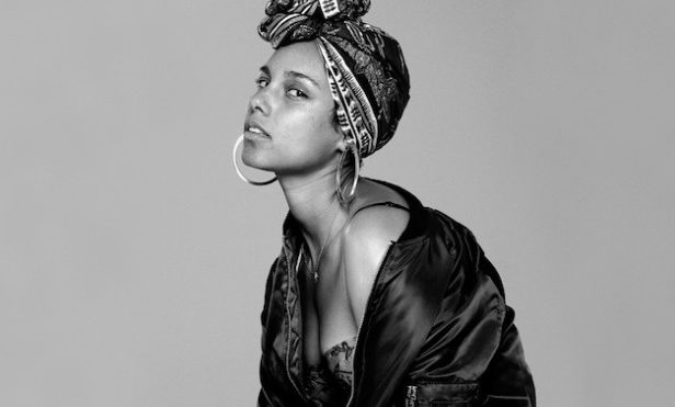 Alicia Keys is DMing her fans with the tracklist to new album Here