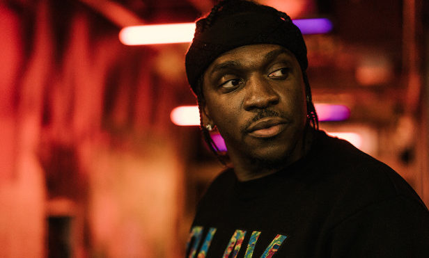Pusha T hits the campaign trail with Tim Kaine