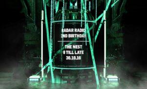 Stream Kenny Allstar's exclusive Halloween mix for Radar Radio's 2nd birthday