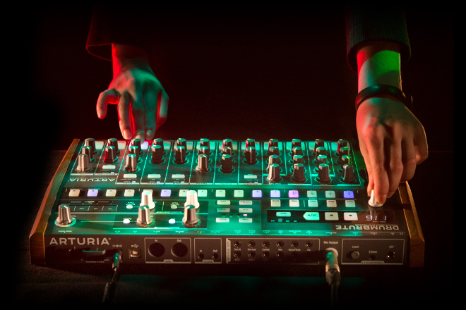 Arturia launches DrumBrute, an affordable $499 analog drum machine