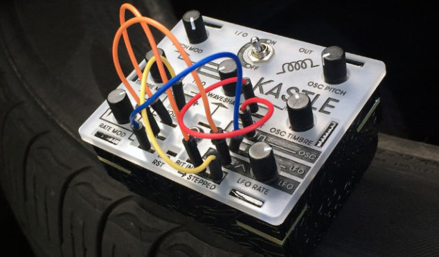 This pocket-sized modular synth runs on three AA batteries