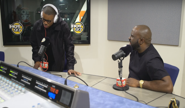 Vince Staples lays down a conscious freestyle on Funk Flex's Hot97 show