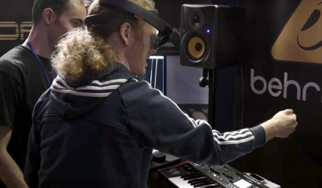 Behringer adds augmented reality interface to DeepMind 12 synthesizer