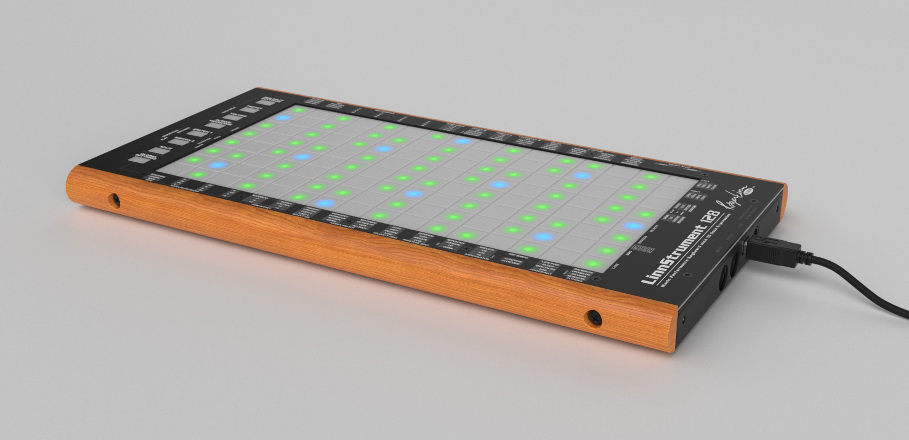 Roger Linn releases compact version of expressive MIDI controller, LinnStrument 128