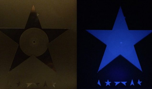 This David Bowie fan has uncovered another secret in the Blackstar vinyl artwork