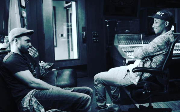 Justin Timberlake says he's working on a new album with Pharrell