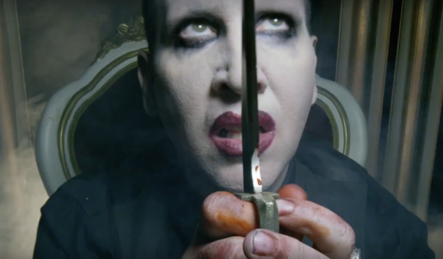 Marilyn Manson beheads Donald Trump in NSFW teaser for 'SAY10' music video