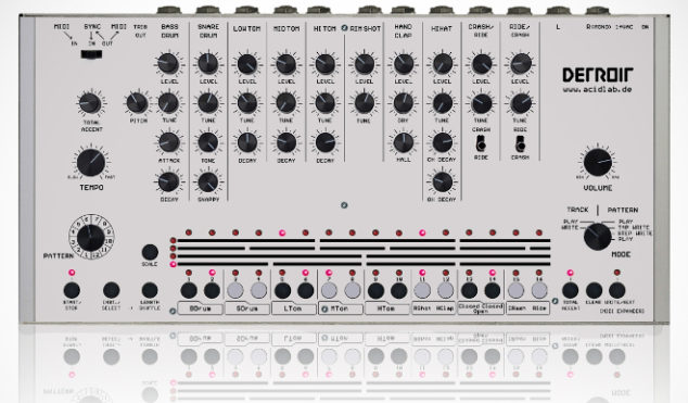 This drum machine could be the TR-909 replica you've been waiting for